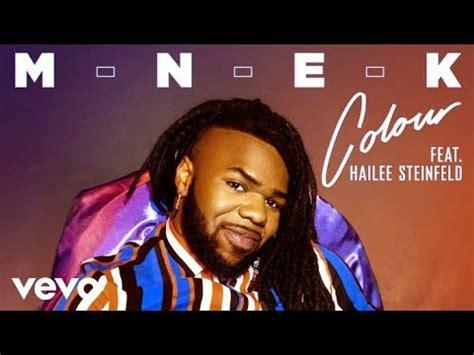mnek colour ft hailee steinfeld mp stafaband  lagu gratis