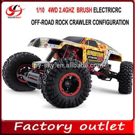 On Road 1 10 10030 Jakartahobby 1 10 scale 2 4ghz electric 4x4 rc road truck brush rock crawler configuration vs traxxas