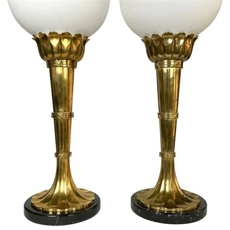 Torchiere Table L Torchiere Table L Pair Of Large Brass Torchiere Table Ls By Chapman For Sale At 1stdibs Deco