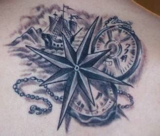 tatuaggi la rosa dei venti significato e foto