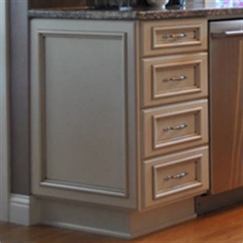 kitchen cabinet ends finished ends aura cabinetry building quality kitchen