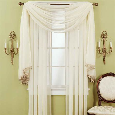 door windows curtain decorating ideas with wall lights
