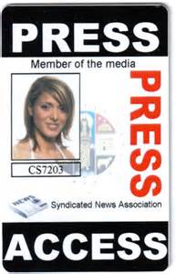 media id card templates sle press passes el vaquero graphics team