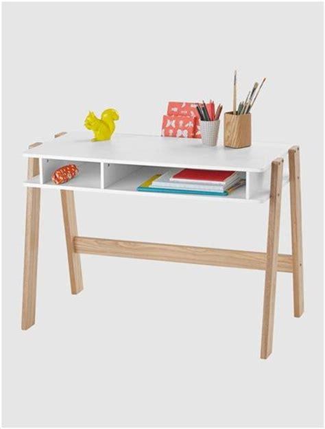 bureau bois clair bureau junior architekt blanc bois clair mobiles et