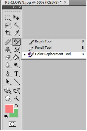 color replacement tool photoshop detailed tutorial site