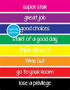 color behavior chart search results for behavior charts for home calendar 2015