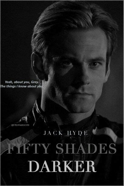 Jack Hyde from Fifty Shades Darker and Fifty Shades Freed