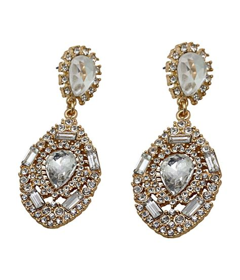 cinderella fashion jewelry golden hanging earrings buy