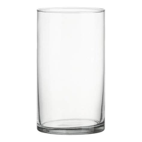clear acrylic cylinder vase wearing lightweight