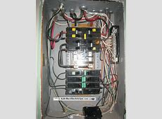 Kitchen Circuit is Not Working Electrical Service Panel Codes