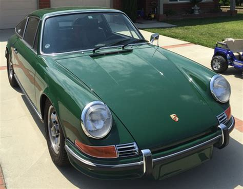 1972 911 paint cross reference
