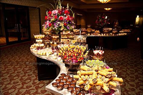 wedding food buffet hyatt food plating presentations