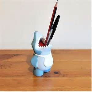 Bathroom Toothbrush Storage by Ferocious Pencil Holders Shark Pencil Holder