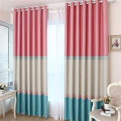 curtains for kid bedrooms lovely polka dots patten curtain for kids room