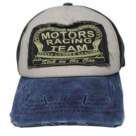 Topi Import Motors Racing Team topi baseball snapback motors racing team blue jakartanotebook