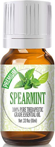 Healing Solutions Top 6 Blends Best Therapeutic Essential Set spearmint 100 therapeutic grade essential