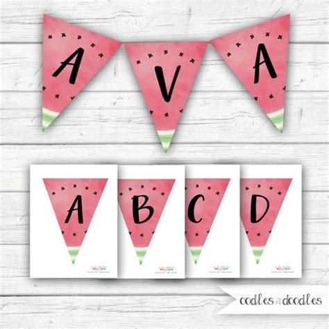 printable watermelon banner 1210 best party ideas images on pinterest watermelon