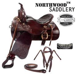 Comfortable Western Saddles by Brown Comfortable Trail Endurance Western Saddle 15