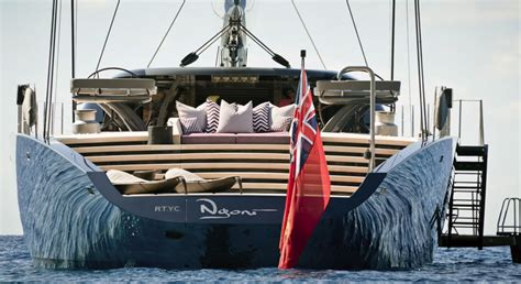 yacht ngoni sailing superyacht ngoni in action and teaching role