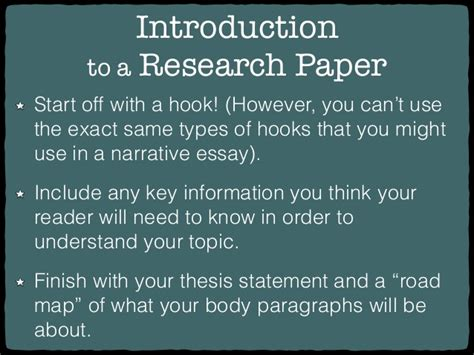 how to start a research paper introduction exles research paper hooks
