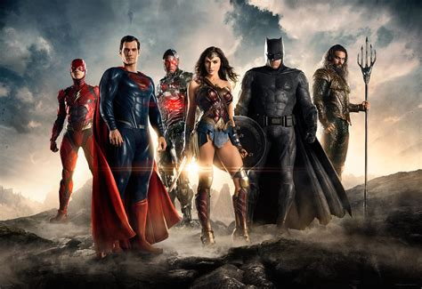 Film Justice League Online | first official image of the big screen justice league