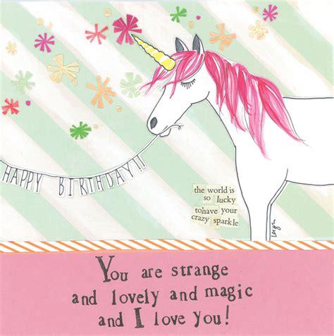 unicorn cards unicorn greeting card curly design