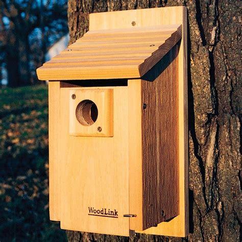 blue bird house hole size woodlink traditional bluebird house 1 9 16 hole size bb3 bird house new ebay
