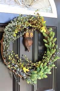 Diy Wreaths For Front Door 13 Diy Fall Wreaths For Your Front Door Dailyscene