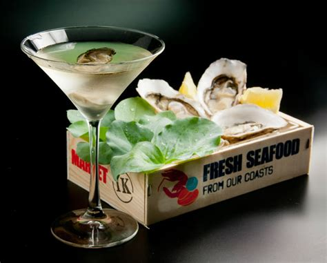 martini oyster sherry oyster martini coktail by javier de las muelas