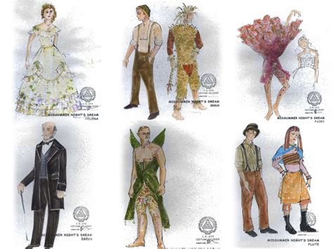 design your dream outfit costume designs for midsummer night s dream know before