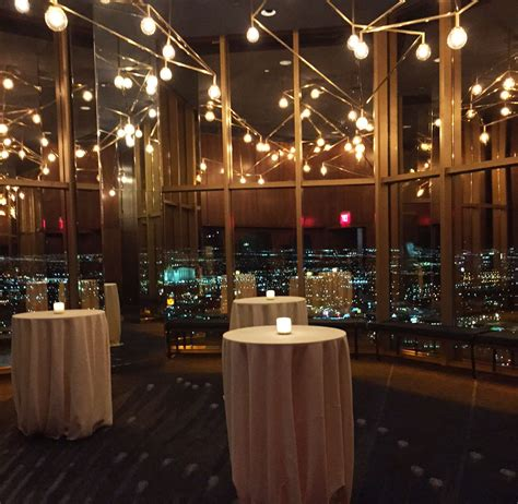 rivea restaurant and skyfall lounge open atop the delano