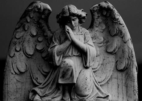 Angel Sculptures praying angel by rosscaughers on deviantart