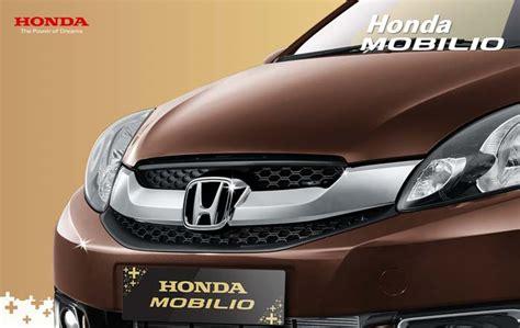 Spion Mobil Honda Mobilio Mobilio Honda 2016 Indonesia Spesifikasi Interior Eksterior