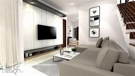 design interior ruang tv ruang tv kebon jeruk jakarta interiordesign id