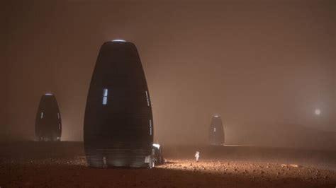 mars house  printed  singularity hub