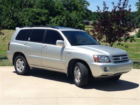 buy used 2005 toyota highlander suv very low mileage in cape girardeau missouri united states