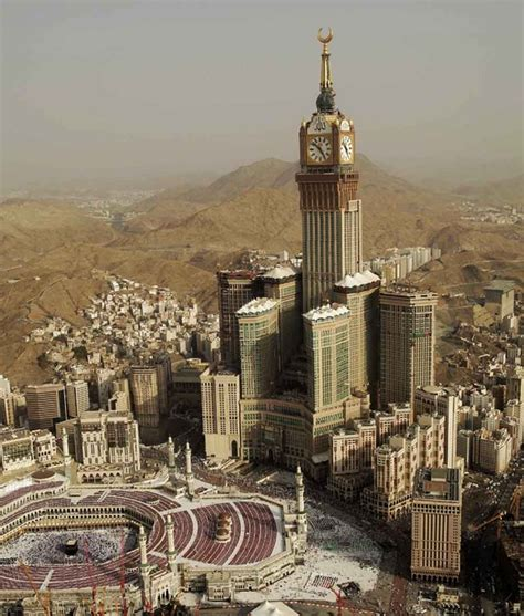 al bait the abraj al bait towers in mecca saudi arabia