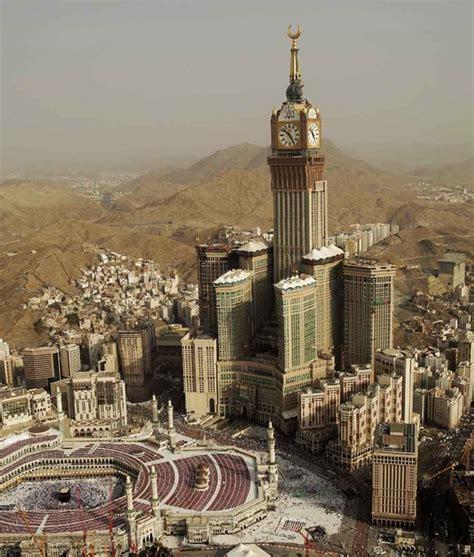 abraj al bait the abraj al bait towers in mecca saudi arabia
