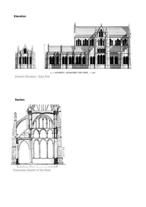 cathedral section salisbury cathedral section www pixshark com images