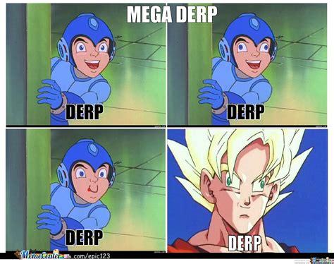 mega memes megaman derp by epic123 meme center