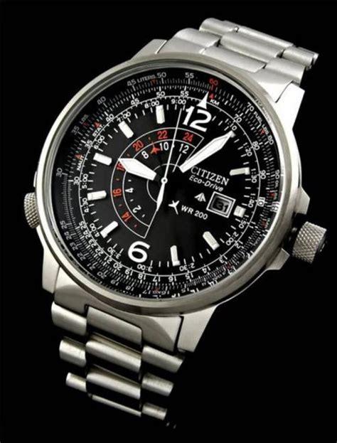 Men's Watches   SUPERB! CITIZEN ECODRIVE NIGHTHAWK DUAL PILOT (200M) WATCH was sold for R2,450