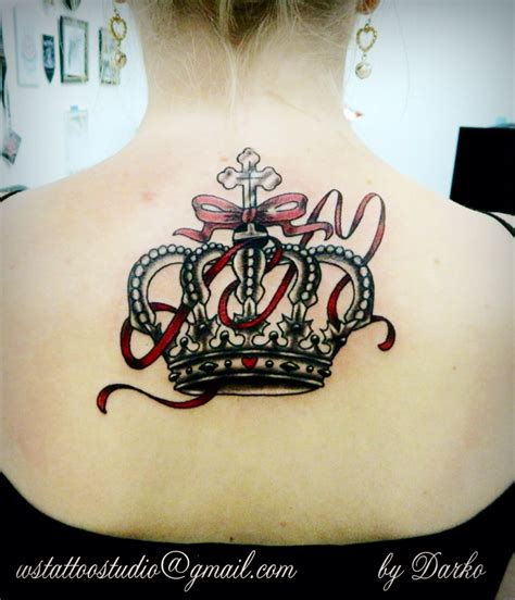 tattoo queen st crown tattoo vanuska pinteres