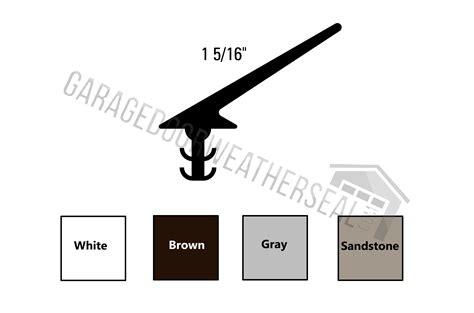 garage door seals  top  sides garage door weather seal