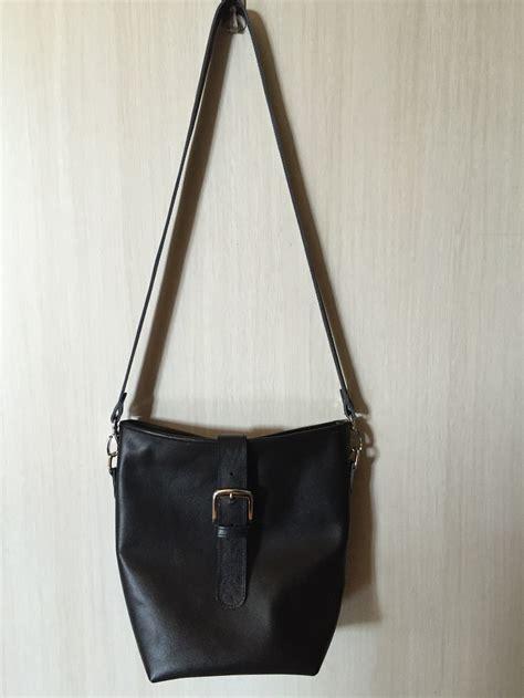 Tas Kulit Asli 07 tas kulit asli selempang genuine leather sling bag