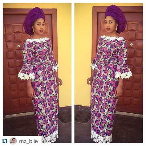aso ebi styles iro and buba ankara and lace aso ebi style trend