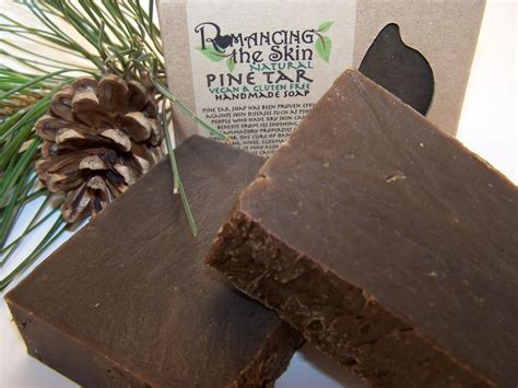 Handmade Lye Soap - custom made pine tar handmade lye soap vegan gluten