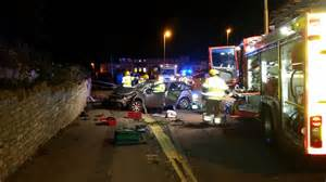 Vauxhall Poole Branksome Update With Seriously Injured After Car Hits