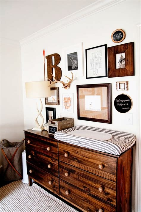 28 Changing Table And Station Ideas That Are Functional Rustic Nursery Decor