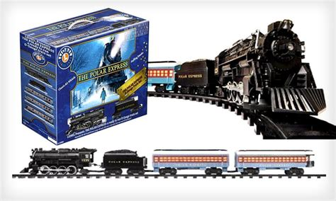 quot the polar express quot train set groupon goods