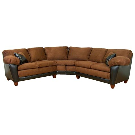 mission sectional sofa james 2 piece sectional sofa mission cinnamon cushions